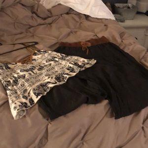 Pants - Wide leg pants outfit